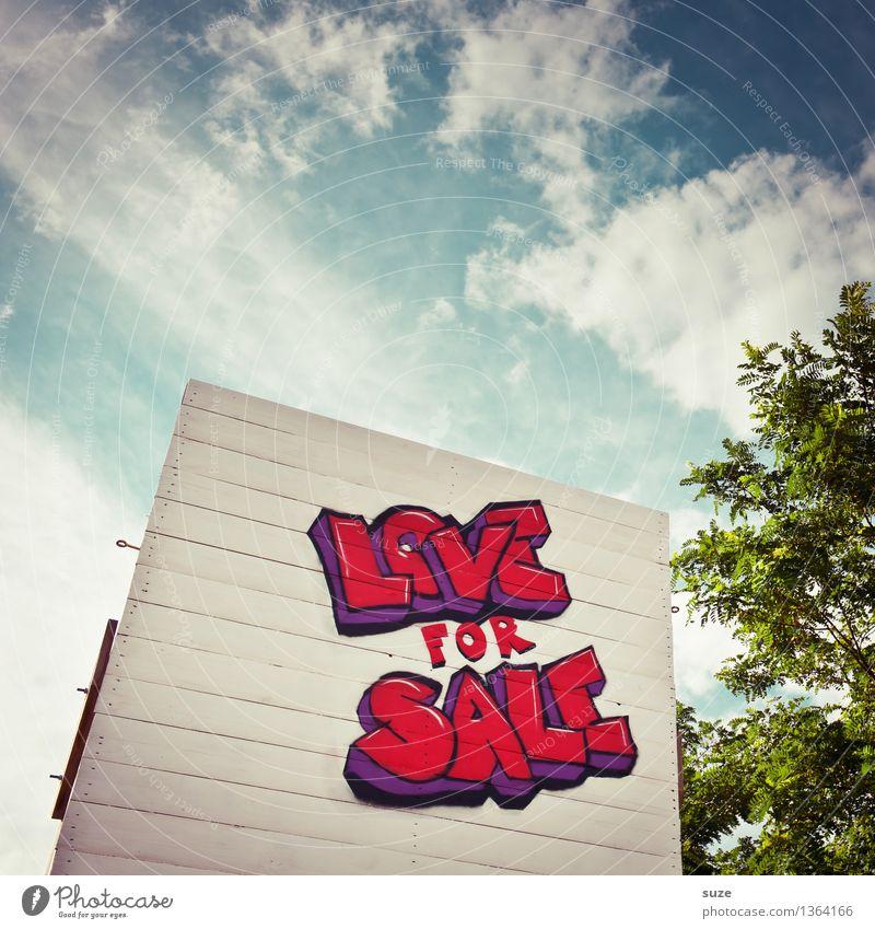 Trash 2016 | Alles muss raus! Design Himmel Zeichen Schriftzeichen Schilder & Markierungen Graffiti Liebe Sex verkaufen Erotik Billig Leidenschaft Treue