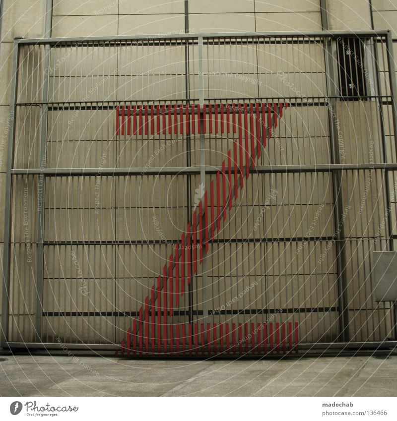ZETT IM KNAST Wand grau Mauer Design Fassade Sicherheit Schriftzeichen Schutz Buchstaben Zeichen Typographie z Lateinisches Alphabet aussperren einsperren Einbruchsicher