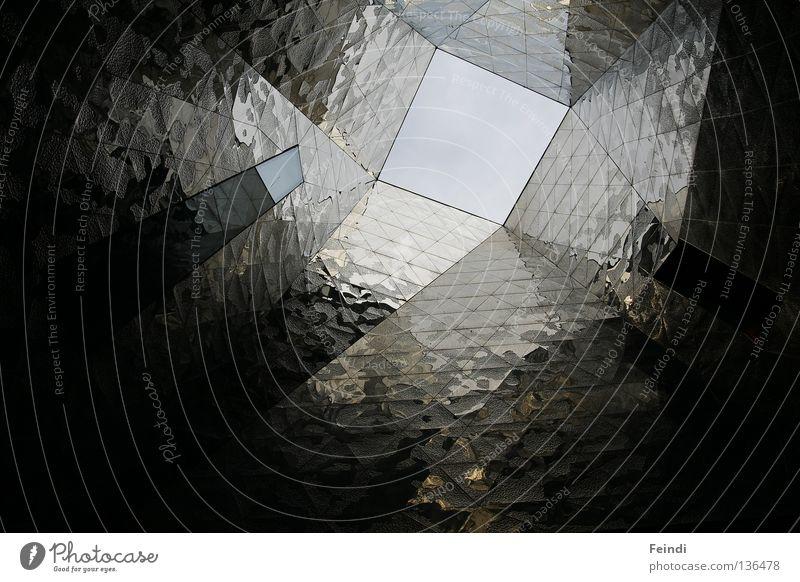 Spaceship Barcelona Reflexion & Spiegelung Fenster Licht modern Herzog & de Meuron Forum 04 Himmel