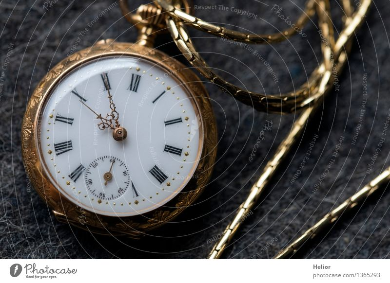Pocket Watch 2 weiß schwarz gelb Hintergrundbild klein grau Metall glänzend Uhr gold Glas Gold Vergänglichkeit retro Zifferblatt Ziffern & Zahlen