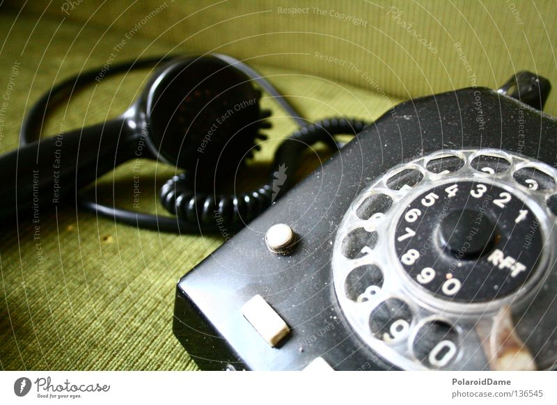 ...besetzt Telefon retro Telefongespräch Stillleben Überraschung Ferne warten Ungeduld