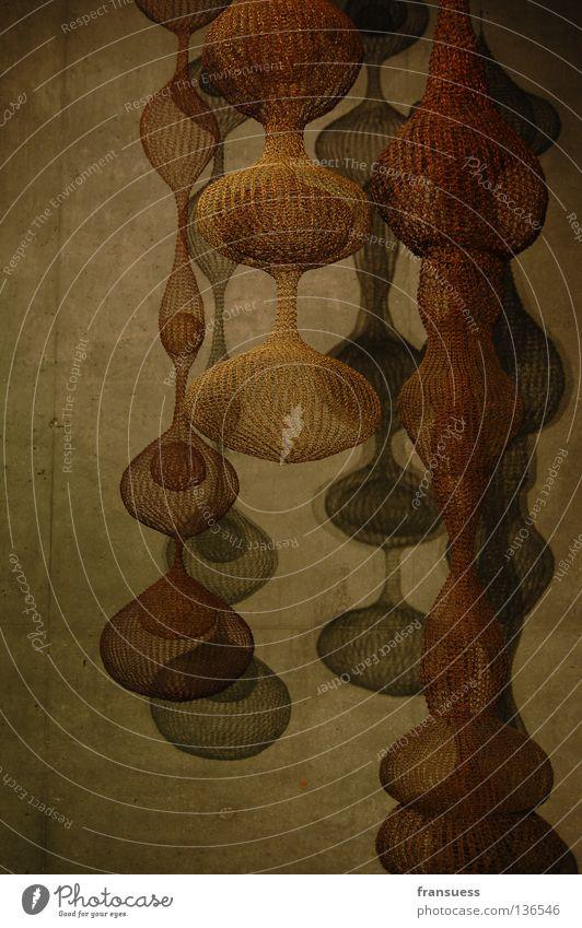 another world Kunst Draht San Francisco rund Oval abstrakt hängen Wand Beton Dinge Ausstellung Strukturen & Formen de young Kreis Schatten