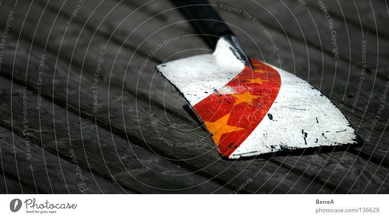 Olympia Paddel China Chinesisch Olympiade Peking Kommunismus Sportveranstaltung Veranstaltung Ereignisse Politik & Staat Tibet rot gelb weiß schwarz Holz Steg