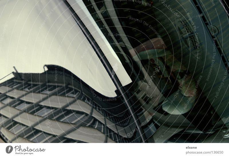 _.:I:._ Stadt Haus Spiegel träumen wirklich Hochhaus Gebäude Material Fenster live Block Beton Etage Vermieter Ghetto hässlich Design Standort Wohnung Himmel
