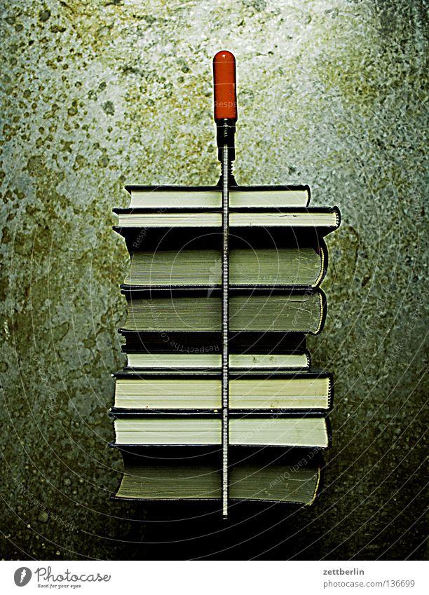 Mehr Bücher Kunst Buch Studium Macht Bildung Kultur Werkzeug Sammlung Wissen Stapel Printmedien Druck Bibliothek drücken Eindruck Medien