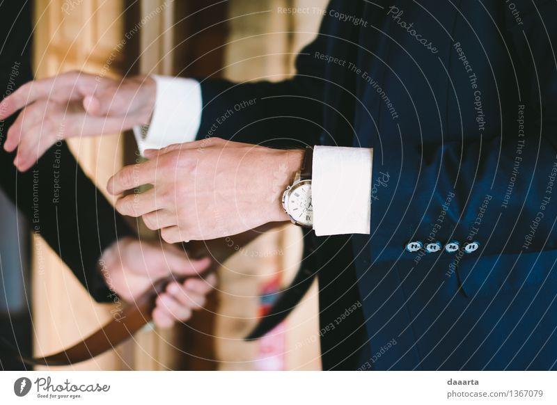 aber Lifestyle Reichtum elegant Stil Design Freude Leben harmonisch Freizeit & Hobby Abenteuer Freiheit ausgehen Feste & Feiern Hochzeit maskulin Anzug