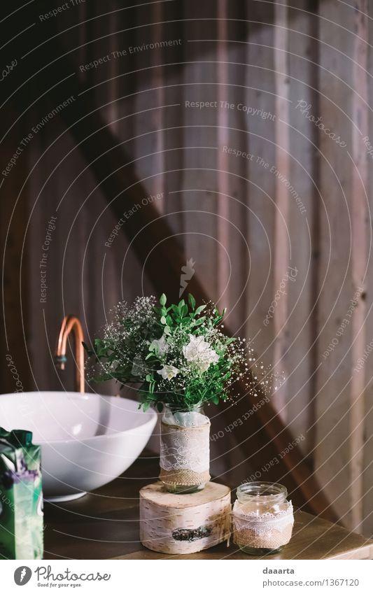 Dekomoment Blume Freude Leben Innenarchitektur Stil Lifestyle Feste & Feiern Freiheit Lampe Stimmung Wohnung Design Häusliches Leben Freizeit & Hobby