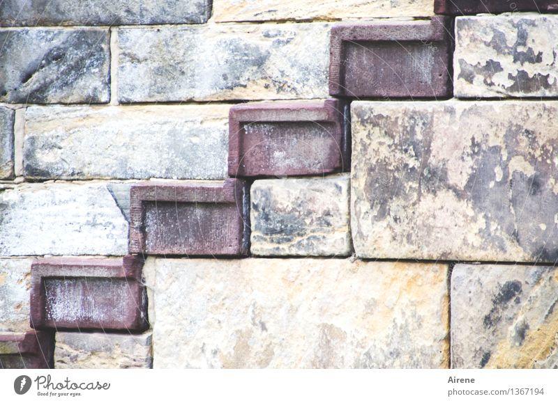 upgrade Goslar Palast Burg oder Schloss Mauer Wand Treppe Fassade Sehenswürdigkeit Kaiserpfalz Niveau Stein Quader blau grau rot Tatkraft gewissenhaft