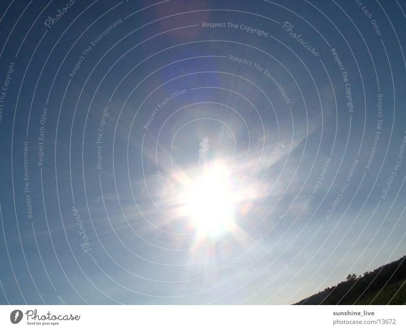 Strahlemann & Söhne Natur Himmel Sonne Sommer Ferien & Urlaub & Reisen Beleuchtung heiß genießen