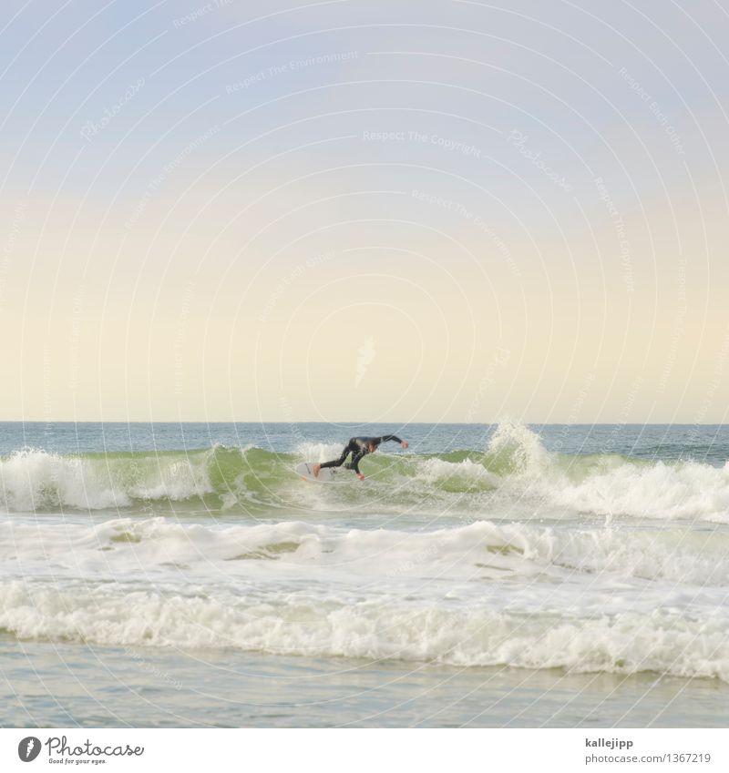 basic instinct Lifestyle Freizeit & Hobby Ferien & Urlaub & Reisen Sonne Strand Meer Wellen Sport Wassersport Sportstätten Mensch maskulin Mann Erwachsene