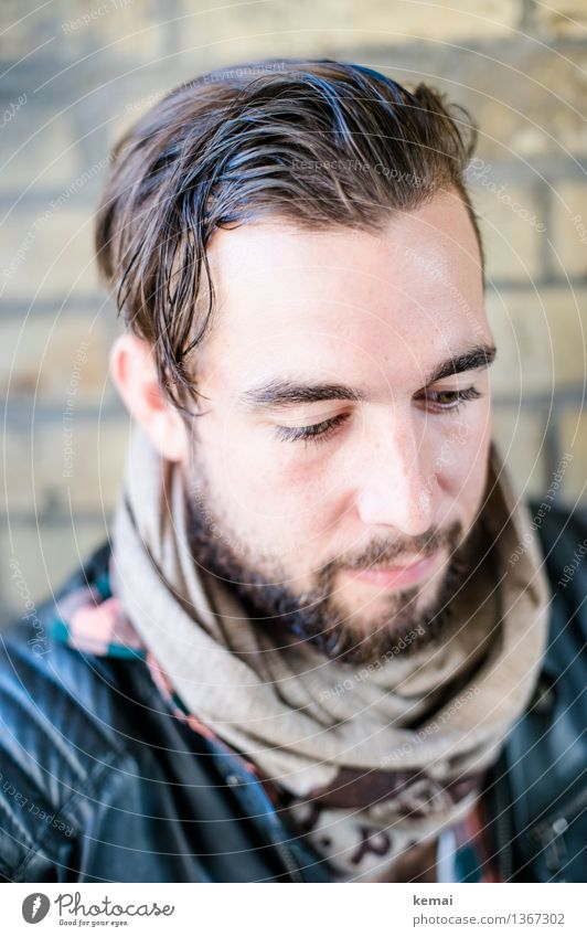 Mr. Beau Mensch Jugendliche schön Junger Mann Erholung ruhig 18-30 Jahre Gesicht Erwachsene Leben Gefühle Stil Lifestyle Denken Haare & Frisuren Kopf