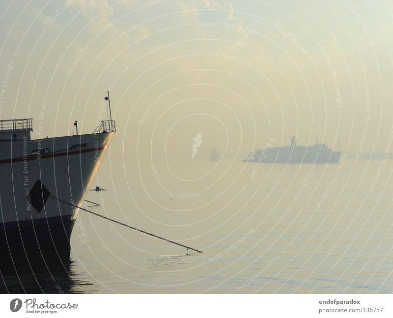 cebu... Wasser Meer blau Ferien & Urlaub & Reisen ruhig Farbe grau Wasserfahrzeug Frieden Asien Hafen Schifffahrt sanft Philippinen