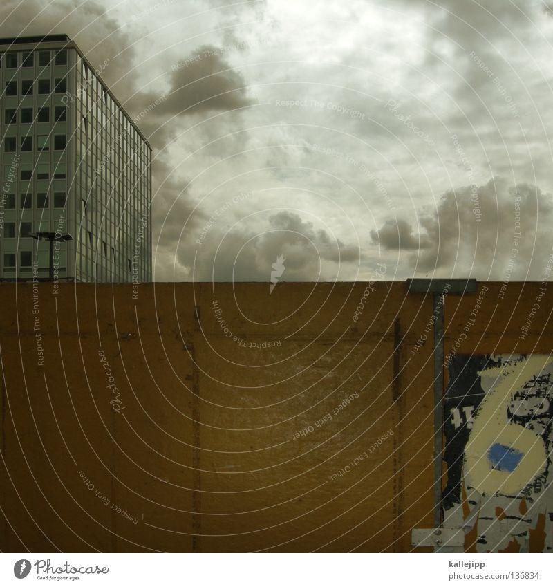 sex Haus Wolken Straße Berlin Wand Fenster Holz Mauer Linie Graffiti Kunst Hochhaus einfach Müll Punkt Mitte