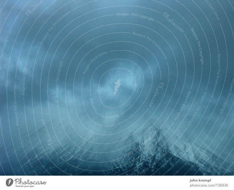Orodruin Neuseeland Nordinsel schwarz Der Herr der Ringe ohnmächtig dunkel Wolken schlechtes Wetter Tangariro Nationalpark Berge u. Gebirge Himmel