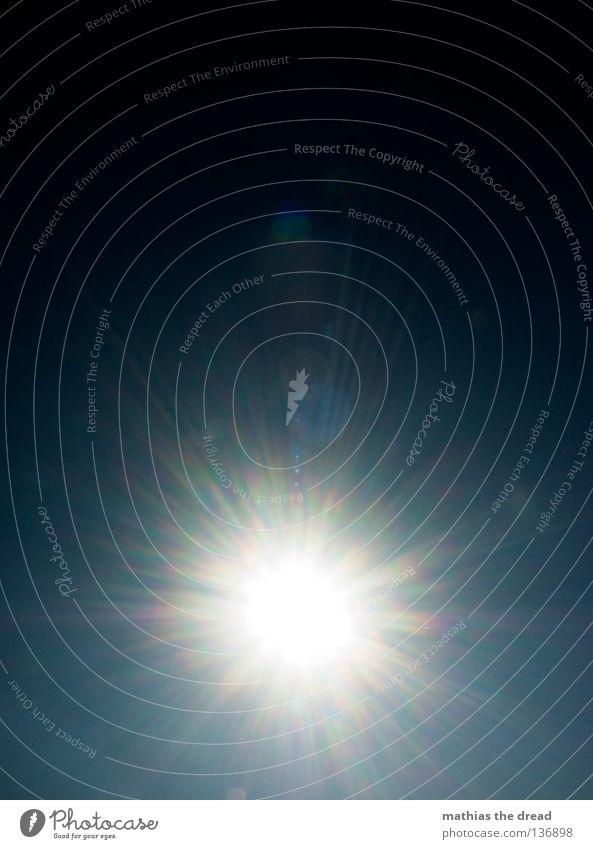 SCHWARZES LOCH schön weiß Sonne blau Sommer schwarz dunkel kalt Wärme Linie hell Stern Stern (Symbol) rund Physik heiß