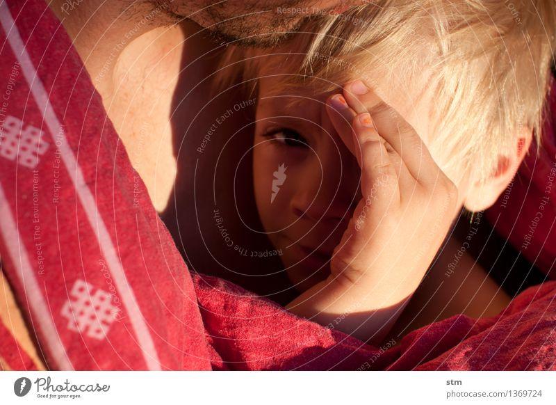 klein sein Mensch Kind Mann Hand Erwachsene Auge Leben Liebe Gefühle Junge Familie & Verwandtschaft maskulin Zufriedenheit Kindheit Lebensfreude Warmherzigkeit