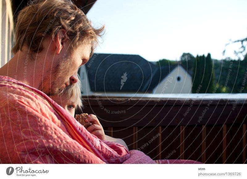 vater Mensch Kind Mann Erwachsene Leben Gefühle Junge Glück Familie & Verwandtschaft Stimmung Zusammensein maskulin Zufriedenheit Kraft authentisch Kindheit