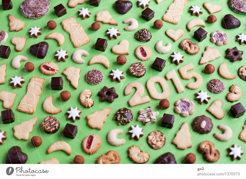 Happy Keksmas Teigwaren Backwaren Süßwaren Schokolade Plätzchen Zimtstern Lebkuchen Spekulatius Ernährung Essen Kaffeetrinken Plätzchen ausstechen