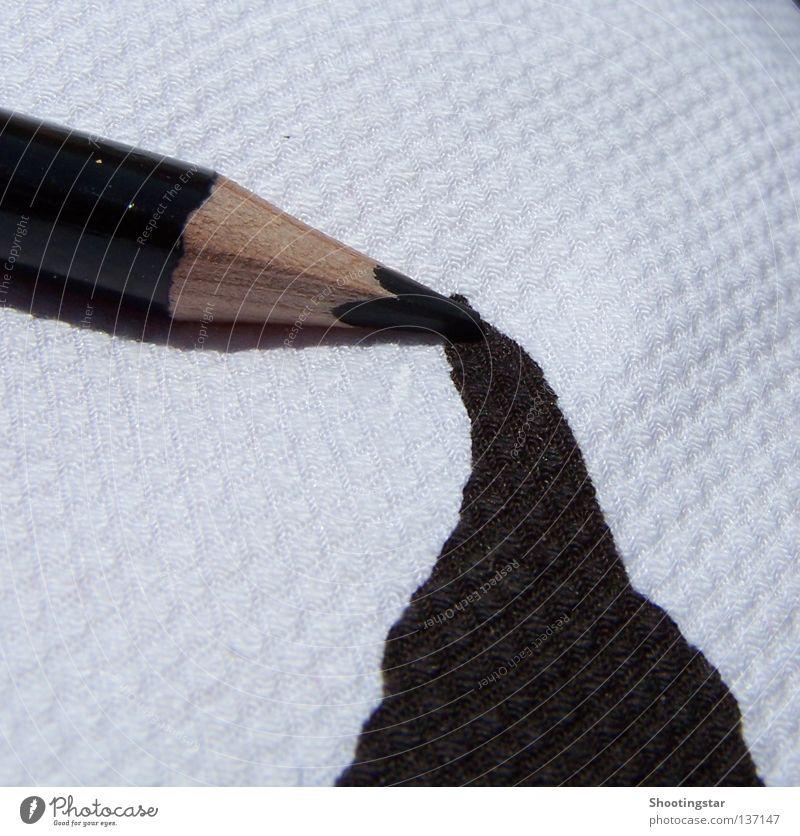 draw weiß braun Kunst streichen zeichnen Fleck Schreibstift Kunstwerk Kunsthandwerk auslaufen
