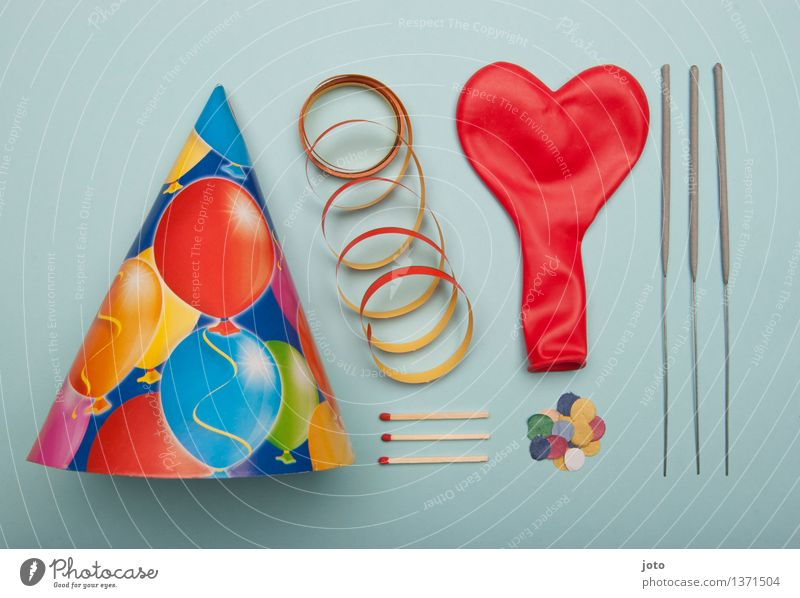 Party - Super Stilllife Feste & Feiern Ordnung Dekoration & Verzierung Geburtstag Dinge Luftballon Veranstaltung Silvester u. Neujahr Hut Karneval Leichtigkeit
