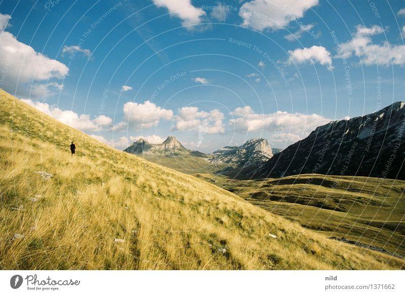 Montenegro – Nationalpark Durmitor Erholung ruhig Ferien & Urlaub & Reisen Tourismus Ausflug Abenteuer Ferne Freiheit Sommer Sommerurlaub Sonne Berge u. Gebirge