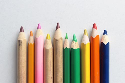 Farbenspiel Leben Stil Kunst Schule Design Freizeit & Hobby Ordnung modern ästhetisch Kreativität Idee Bildung zeichnen harmonisch positiv