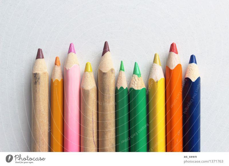 Farbenspiel Stil Design Leben harmonisch Freizeit & Hobby Kinderspiel zeichnen Kindererziehung Bildung Kindergarten Schule Kunst Farbstift Schreibwaren
