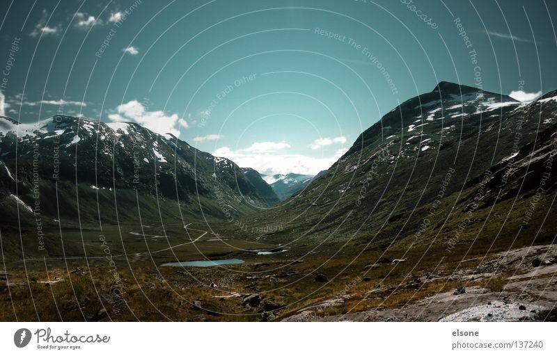 ::UNAFFECTED:: Natur Ferien & Urlaub & Reisen Ferne Schnee Berge u. Gebirge Freiheit wandern Ausflug frei Macht Unendlichkeit Aussicht Gipfel fantastisch