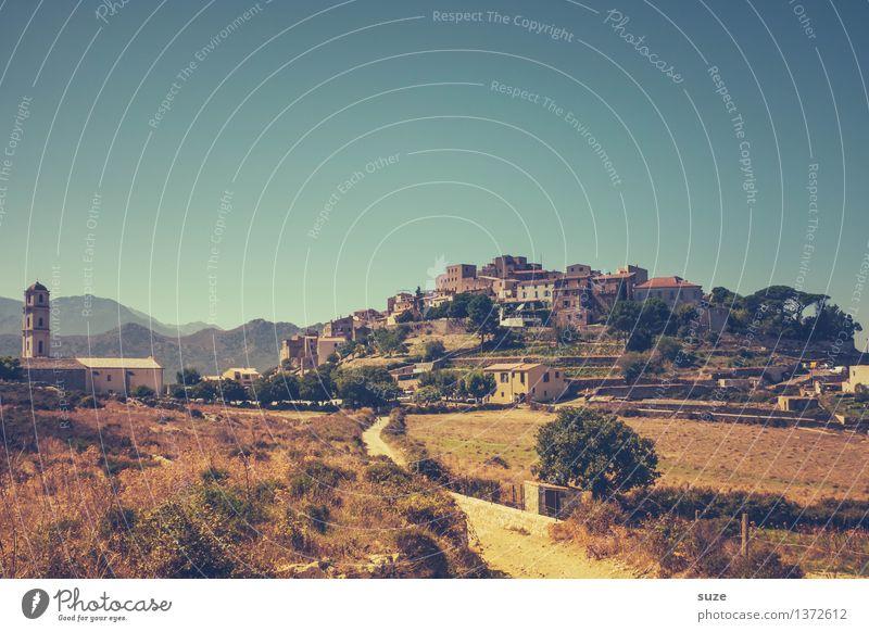Ursprüngliches Sant'Antonino Natur Ferien & Urlaub & Reisen Sommer Landschaft Einsamkeit Reisefotografie Leben Wege & Pfade Tourismus Ausflug wandern Feld