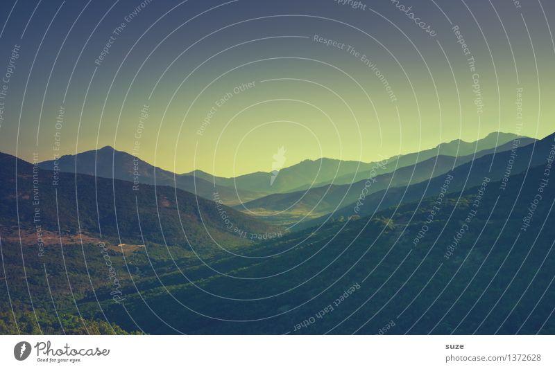 Da, wo der Pfeffer wächst Himmel Natur Ferien & Urlaub & Reisen Pflanze Sommer Landschaft Einsamkeit Reisefotografie Berge u. Gebirge Umwelt Leben