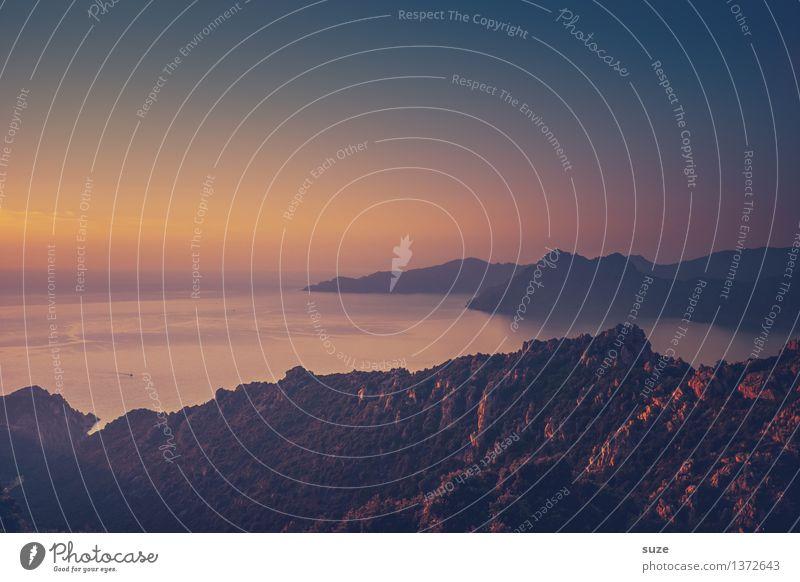Na dann, gute Nacht Natur Ferien & Urlaub & Reisen Pflanze Sommer Meer Landschaft Strand Reisefotografie Berge u. Gebirge Wärme Küste außergewöhnlich Zeit Felsen fantastisch einzigartig