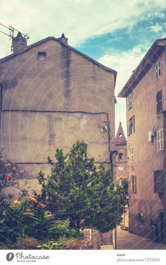 Religiöser Engpass Ferien & Urlaub & Reisen Stadt alt Sommer Haus Reisefotografie Wärme Architektur Leben Religion & Glaube Gebäude außergewöhnlich Zeit Fassade