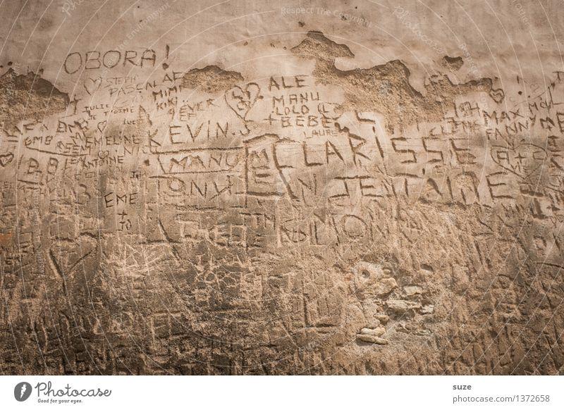 Historisch | Nichts ist für die Ewigkeit alt Wand Liebe Mauer Fassade träumen Tourismus dreckig trist authentisch Vergänglichkeit kaputt Wandel & Veränderung
