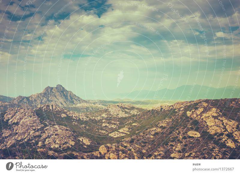 Steinmeer Himmel Natur Ferien & Urlaub & Reisen Pflanze Sommer Landschaft Einsamkeit Wolken Ferne Umwelt außergewöhnlich Freiheit Felsen wild Ausflug wandern