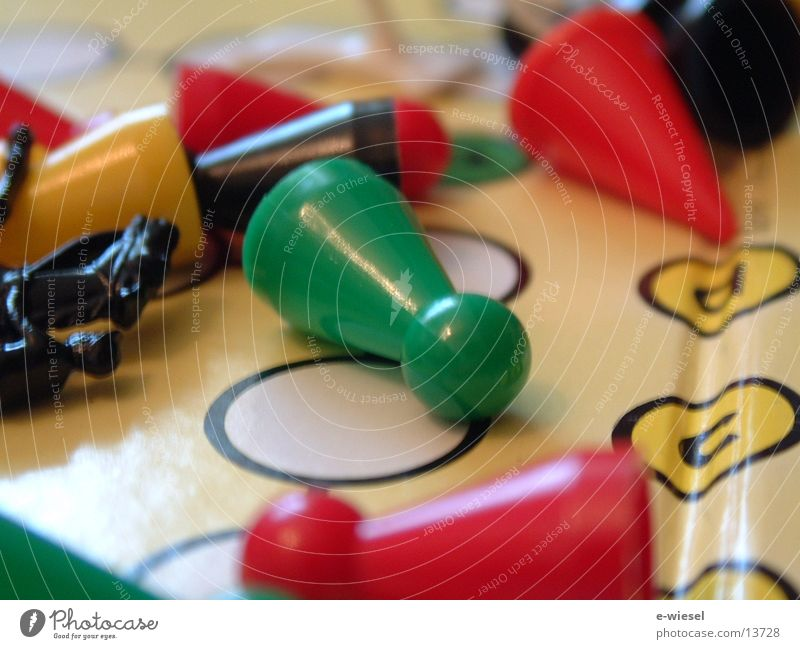 Spielfigur1 Spielbrett Freizeit & Hobby mensch-ärger-dich-nicht