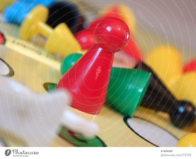 Spielfigur2 Spielbrett Freizeit & Hobby mensch-ärger-dich-nicht