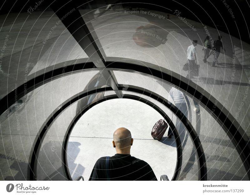 gelandet Flugzeug Ferien & Urlaub & Reisen Koffer resignieren Gangway Fernweh Ankunft kommen Vorfreude Passagier Heimweh Wohnung Rollfeld Reflexion & Spiegelung