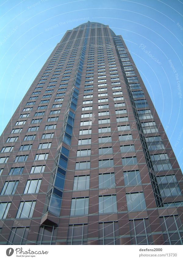 Messeturm Frankfurt Architektur Hochhaus Turm