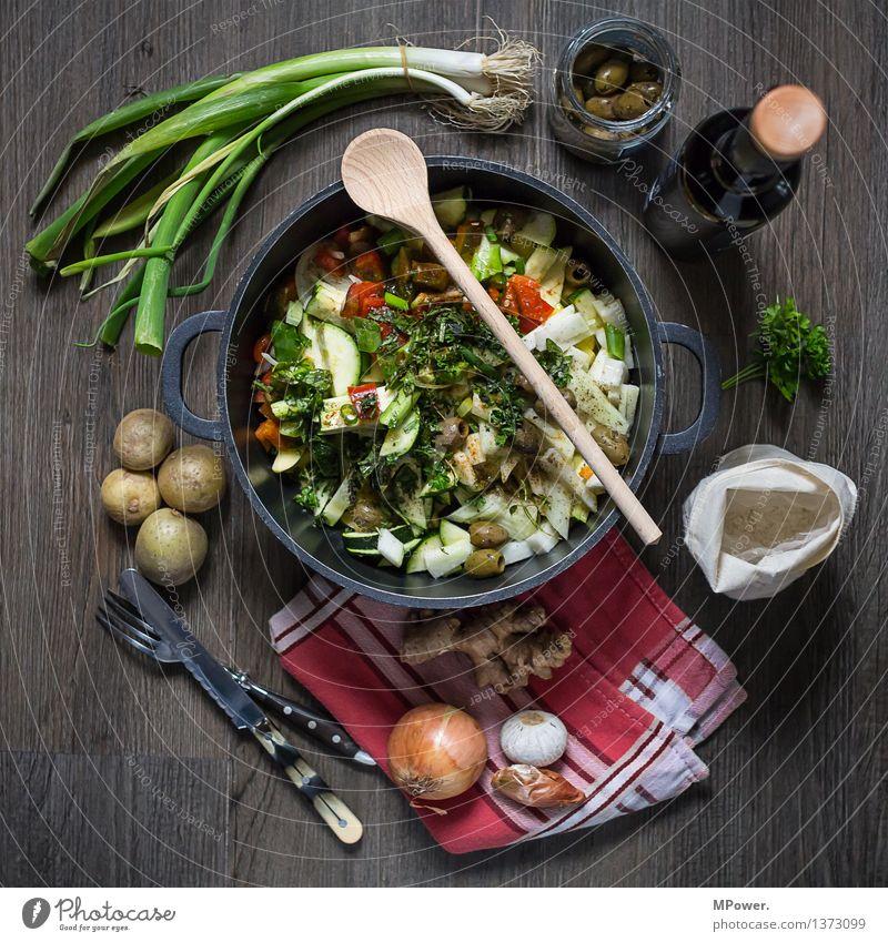 frisch an werk Lebensmittel Suppe Eintopf Kräuter & Gewürze Öl Ernährung Mittagessen Bioprodukte Vegetarische Ernährung Diät Italienische Küche Geschirr Topf