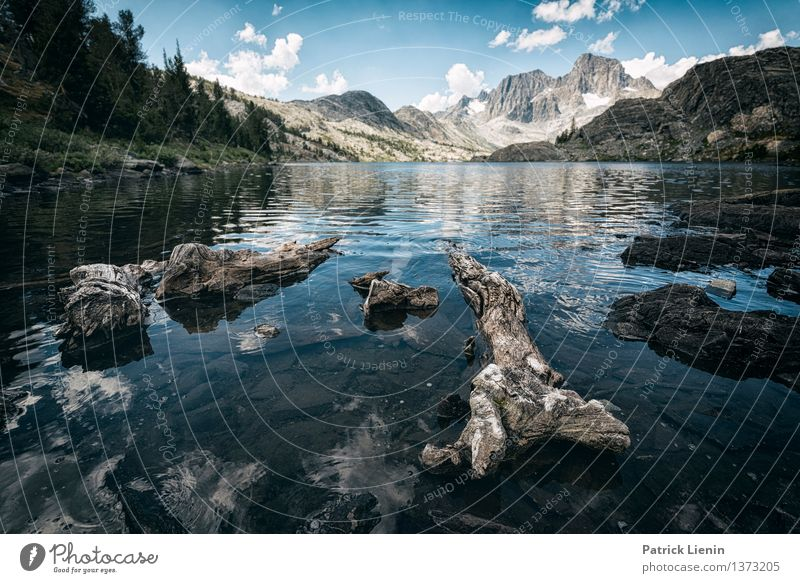 Garnet Lake Natur Ferien & Urlaub & Reisen Sommer Wasser Sonne Erholung Landschaft Wolken ruhig Ferne Berge u. Gebirge Umwelt Freiheit Zufriedenheit wandern