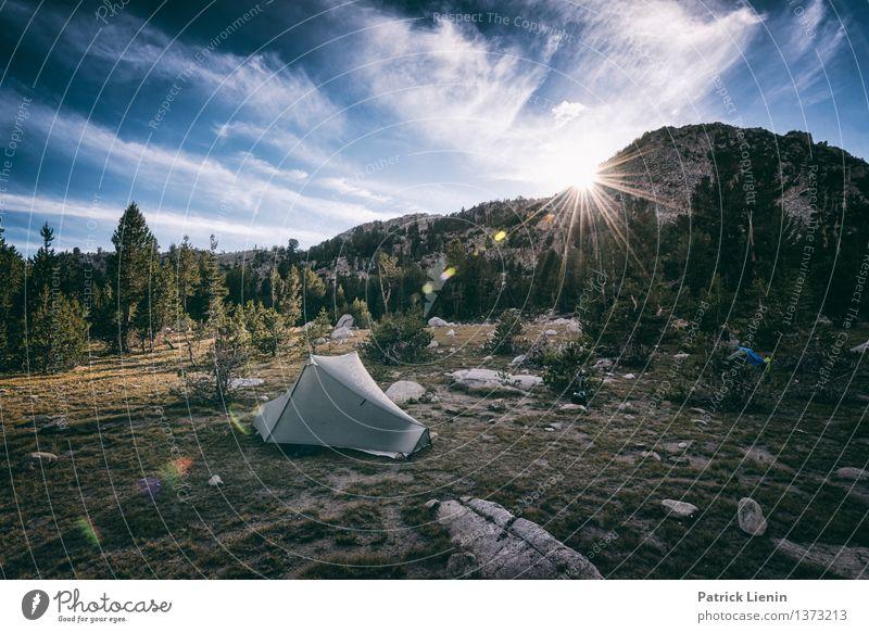 Berghotel Himmel Natur Ferien & Urlaub & Reisen Pflanze Sommer Sonne Landschaft Ferne Berge u. Gebirge Umwelt Lifestyle Freiheit Felsen Tourismus Wetter wandern