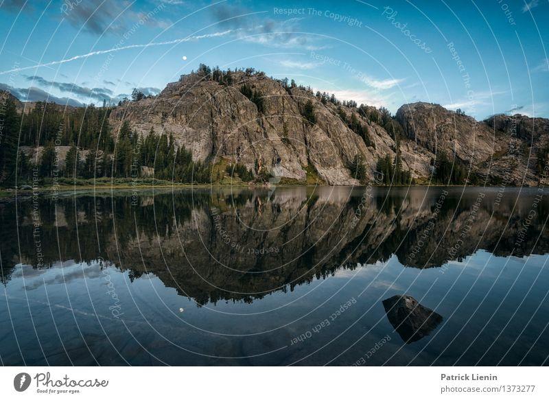 Rosalie Lake Natur Ferien & Urlaub & Reisen Erholung Landschaft ruhig Ferne Berge u. Gebirge Umwelt Küste Freiheit See Felsen Wetter Zufriedenheit Tourismus