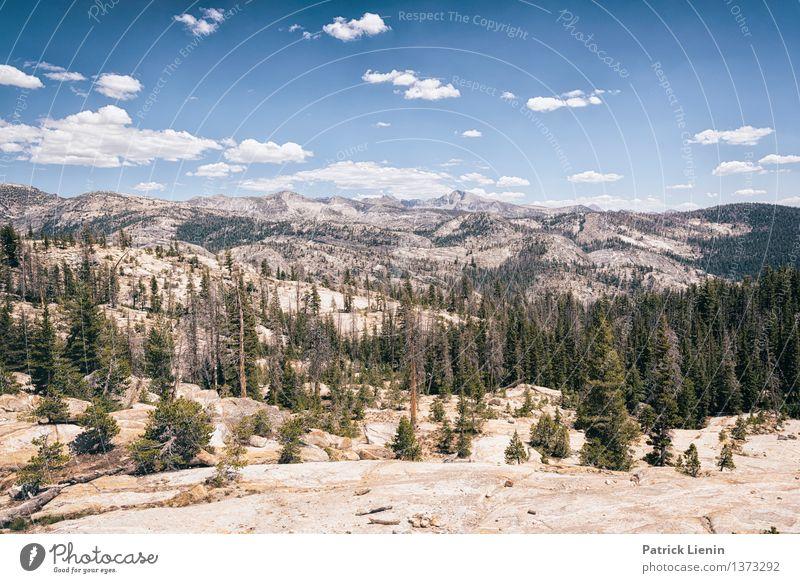 Sierra Nevada Himmel Natur Ferien & Urlaub & Reisen Baum Landschaft Wolken Ferne Wald Berge u. Gebirge Umwelt Leben Freiheit Felsen Tourismus Zufriedenheit