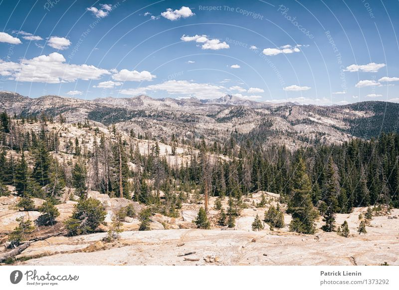Sierra Nevada Wellness Leben harmonisch Wohlgefühl Zufriedenheit Ferien & Urlaub & Reisen Tourismus Ausflug Abenteuer Ferne Freiheit Expedition Berge u. Gebirge