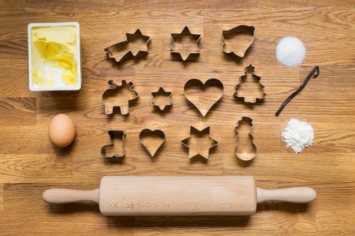 Weihnachtsbäckerei I Weihnachten & Advent Erholung ruhig Freude Essen Zufriedenheit Freizeit & Hobby Lebensfreude Kochen & Garen & Backen süß lecker Süßwaren