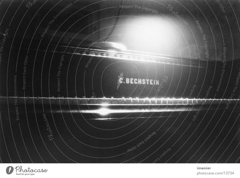 Bechstein 1871 Musik Flügel Dinge Klavier Musikinstrument
