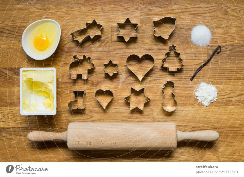 Weihnachtsbäckerei II Weihnachten & Advent Erholung ruhig Freude Essen Glück Zufriedenheit Freizeit & Hobby Lebensfreude Kochen & Garen & Backen süß lecker Süßwaren Duft Ei Backwaren