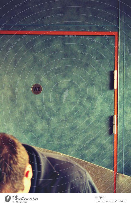 HH08.1 - Hero Mann blau Farbe Haare & Frisuren Metall Tür Schilder & Markierungen Suche Körperhaltung Ohr Bad Jacke Toilette Flughafen türkis Typ