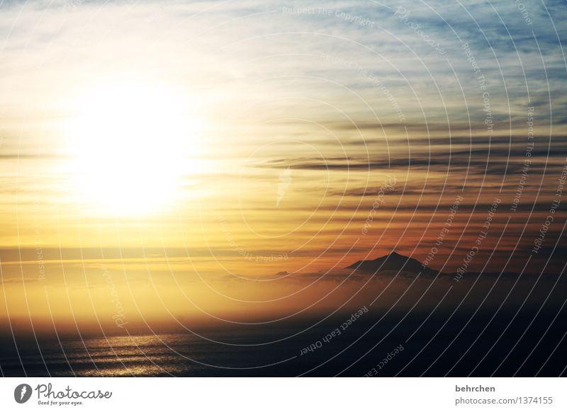 """""""nur im traum du wirklich frei noch bist"""" Himmel Natur Ferien & Urlaub & Reisen schön Sommer Meer Wolken Ferne Berge u. Gebirge Frühling Küste außergewöhnlich"""