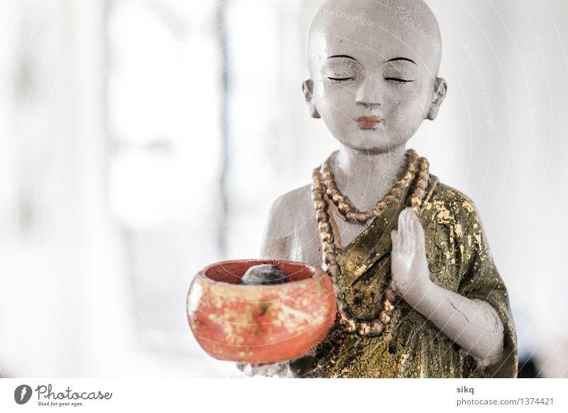 Buddha | Achtsamkeit | Stille grün weiß Wärme Gefühle natürlich feminin Gesundheit Holz Glück Stein träumen orange Dekoration & Verzierung elegant gold